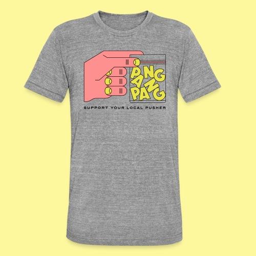 PangPang Support - Triblend-T-shirt unisex från Bella + Canvas