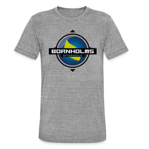 BORNHOLMS_EFTERSKOLE - Unisex tri-blend T-shirt fra Bella + Canvas