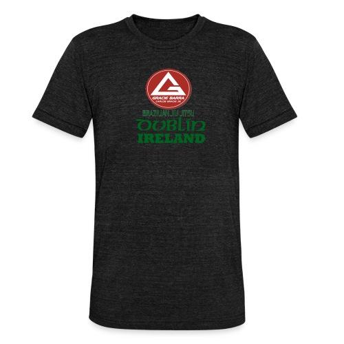 Gracie Barra Dublin Gaelic Celtic Font PNG - Unisex Tri-Blend T-Shirt by Bella & Canvas