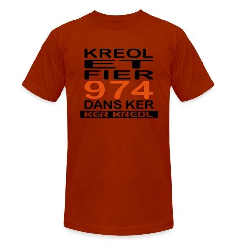 Kreol et Fier - 974 ker kreol - T-shirt chiné Bella + Canvas Unisexe