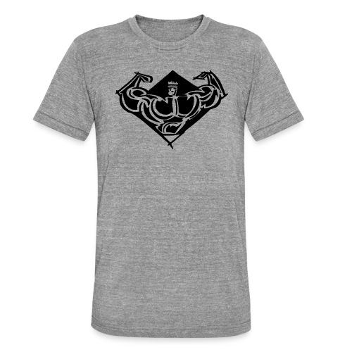 Comet Gym Icon - Triblend-T-shirt unisex från Bella + Canvas