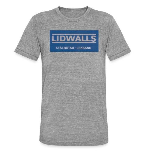 Lidwalls Stålbåtar - Triblend-T-shirt unisex från Bella + Canvas