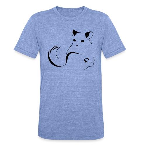 Suomen Chinchillayhdistys ry logo - Bella + Canvasin unisex Tri-Blend t-paita.