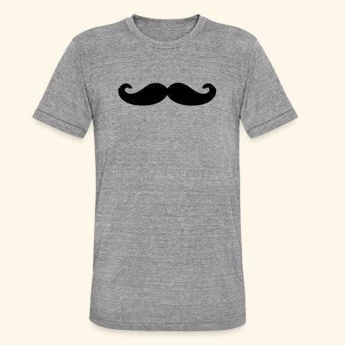 Loco Moustache - Unisex tri-blend T-shirt van Bella + Canvas
