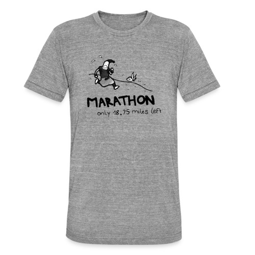 marathon-png - Koszulka Bella + Canvas triblend – typu unisex