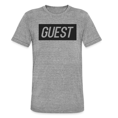 G-rectangle (grey) - Unisex Tri-Blend T-Shirt by Bella & Canvas