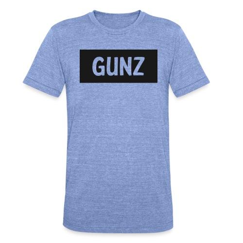 Gunz - Unisex tri-blend T-shirt fra Bella + Canvas