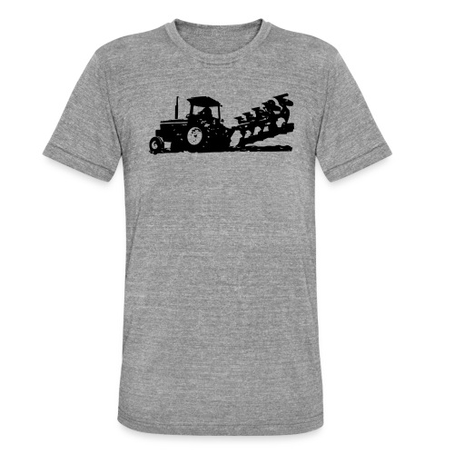JD w plow - Unisex Tri-Blend T-Shirt by Bella & Canvas