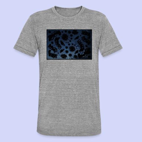 late night doodle - Female Shirt - Unisex tri-blend T-shirt fra Bella + Canvas