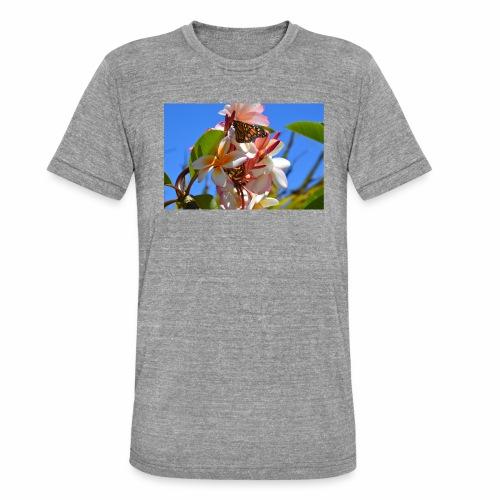 Schmetterling - Unisex Tri-Blend T-Shirt von Bella + Canvas