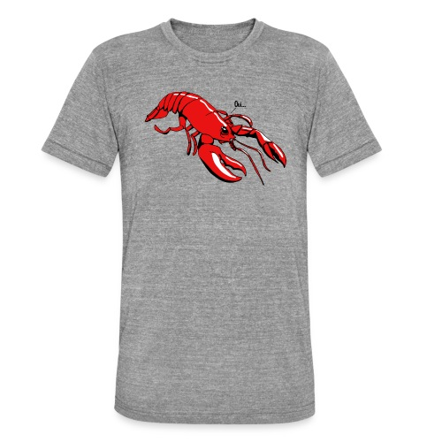 Lobster - Unisex Tri-Blend T-Shirt by Bella & Canvas