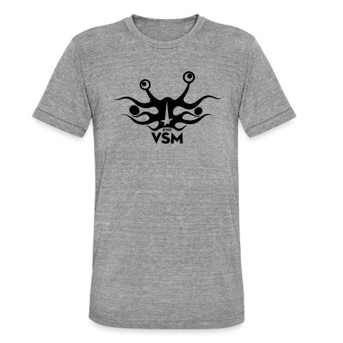 Kerk van het Vliegend Spaghettimonster - Unisex tri-blend T-shirt van Bella + Canvas