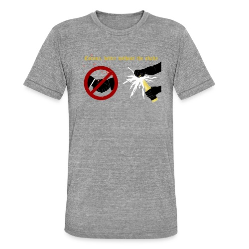 corona - Triblend-T-shirt unisex från Bella + Canvas