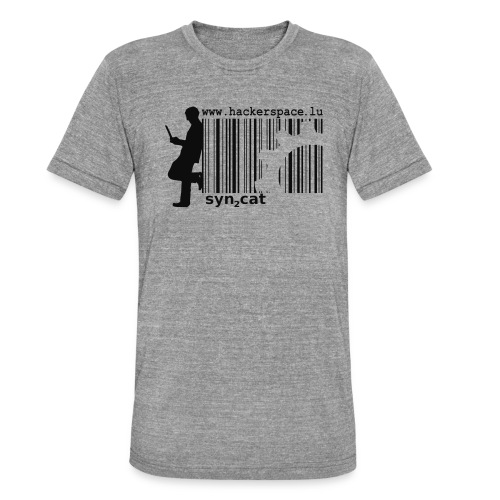 syn2cat hackerspace - Unisex Tri-Blend T-Shirt by Bella & Canvas