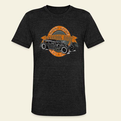 Raredog Rods Logo - Unisex tri-blend T-shirt fra Bella + Canvas