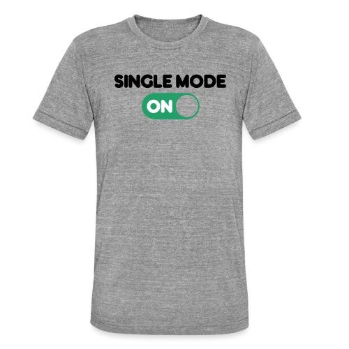 single mode ON - Maglietta unisex tri-blend di Bella + Canvas