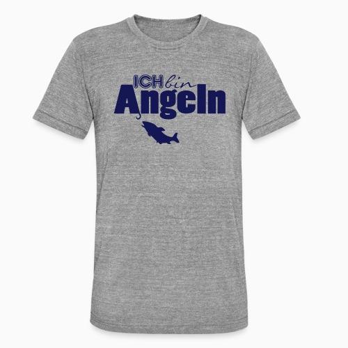 Ich bin Angeln - Unisex Tri-Blend T-Shirt von Bella + Canvas