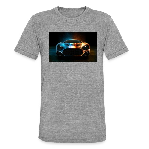 car - Unisex Tri-Blend T-Shirt by Bella & Canvas