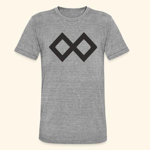 TenX Logo - Unisex Tri-Blend T-Shirt von Bella + Canvas