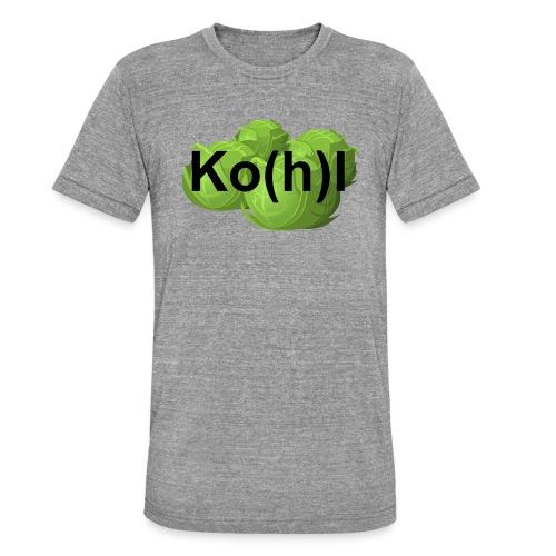 Ko(h)l - Unisex Tri-Blend T-Shirt von Bella + Canvas