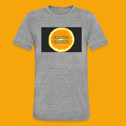 Orange_Logo_Black - Unisex Tri-Blend T-Shirt by Bella & Canvas