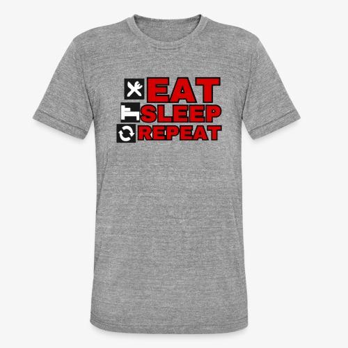 EAT SLEEP REPEAT T-SHIRT GOOD QUALITY. - Unisex Tri-Blend T-Shirt by Bella & Canvas