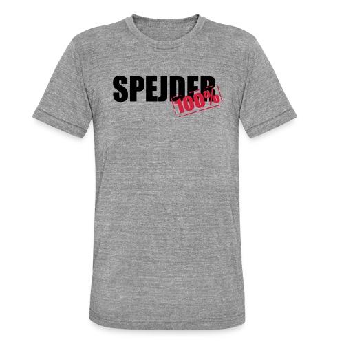 100procent spejder stempel - Unisex tri-blend T-shirt fra Bella + Canvas