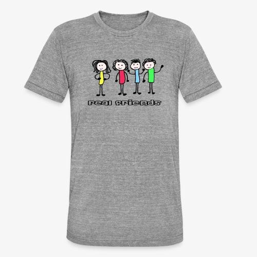 friends - Unisex Tri-Blend T-Shirt von Bella + Canvas