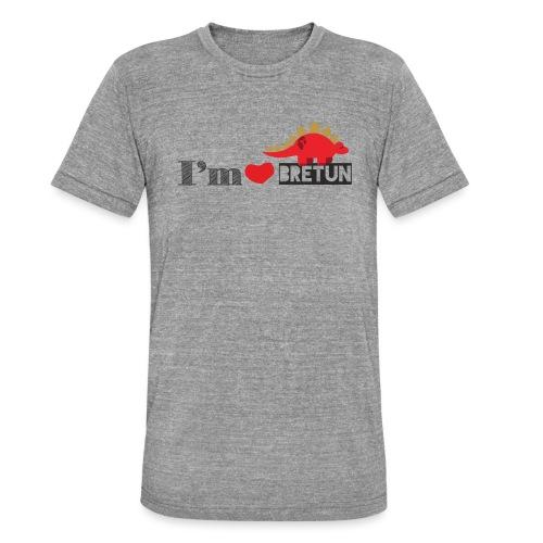 bretun negro - Camiseta Tri-Blend unisex de Bella + Canvas