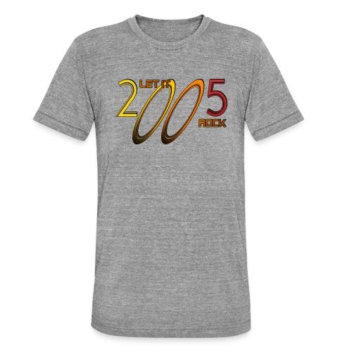 Let it Rock 2005 - Unisex Tri-Blend T-Shirt von Bella + Canvas