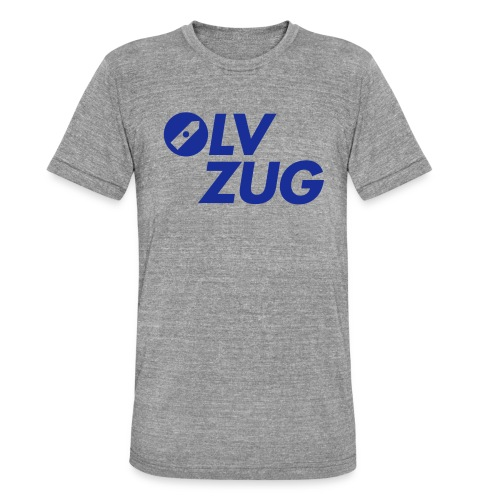 OLV_Zug_Logo_2_Z_ohneRand - Unisex Tri-Blend T-Shirt von Bella + Canvas