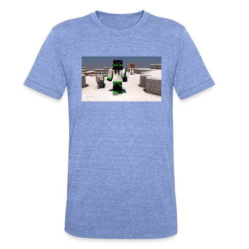 t-shirt - Triblend-T-shirt unisex från Bella + Canvas