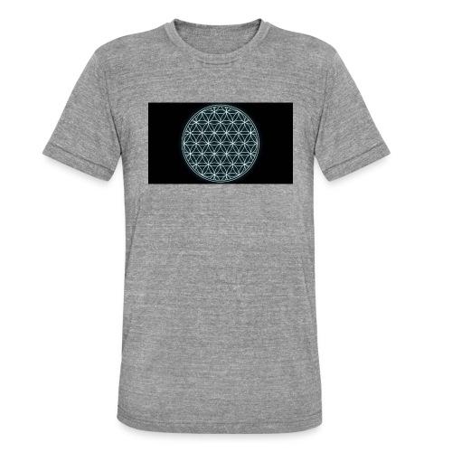 flower of life - Unisex tri-blend T-shirt van Bella + Canvas
