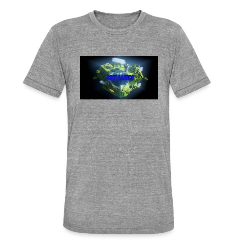 T-shirt SBM games - Unisex tri-blend T-shirt van Bella + Canvas