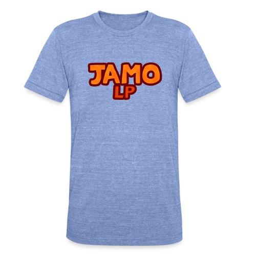 JAMOLP Logo T-shirt - Unisex tri-blend T-shirt fra Bella + Canvas