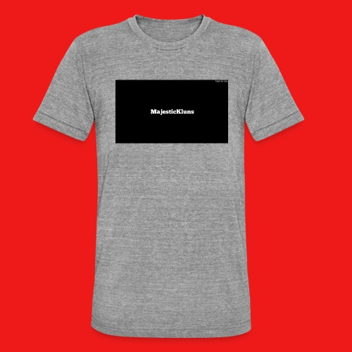 New - Unisex tri-blend T-shirt fra Bella + Canvas