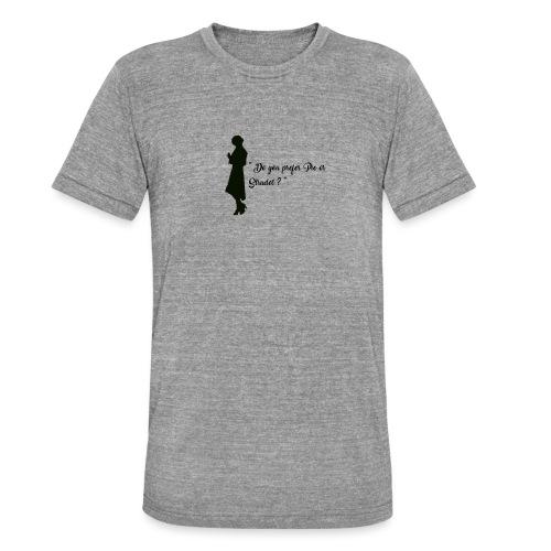 Queenie - T-shirt chiné Bella + Canvas Unisexe