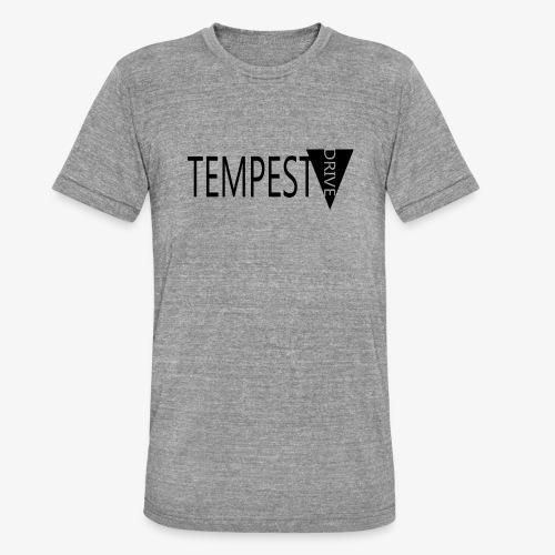 Tempest Drive: Full Logo - Unisex tri-blend T-shirt fra Bella + Canvas