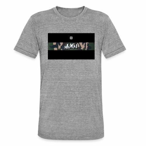 HuKKi - Unisex Tri-Blend T-Shirt von Bella + Canvas