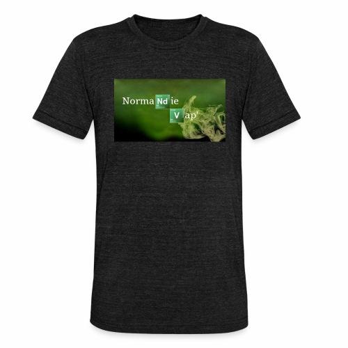 Normandie Vap' - T-shirt chiné Bella + Canvas Unisexe