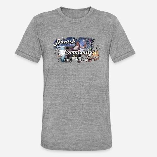 Dansih community - fivem2 - Unisex tri-blend T-shirt fra Bella + Canvas