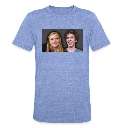 Profil billede beska ret - Unisex tri-blend T-shirt fra Bella + Canvas