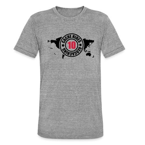 cache hides - 10 - Unisex Tri-Blend T-Shirt von Bella + Canvas