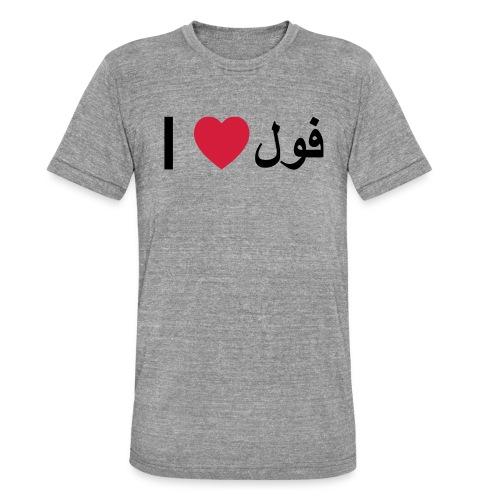 I heart Fool - Unisex Tri-Blend T-Shirt by Bella & Canvas