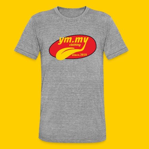 YM.MY clothing LOGO - Unisex Tri-Blend T-Shirt by Bella & Canvas
