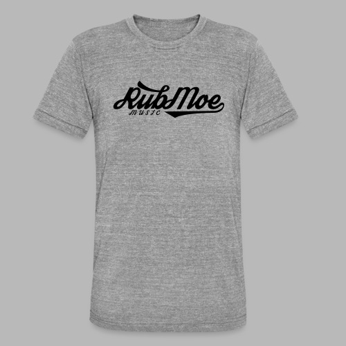 RubMoe - Unisex tri-blend T-skjorte fra Bella + Canvas