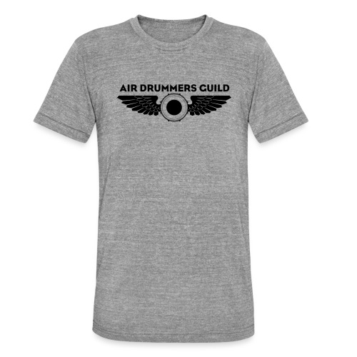 ADG Drum'n'Wings Emblem - Unisex Tri-Blend T-Shirt by Bella & Canvas