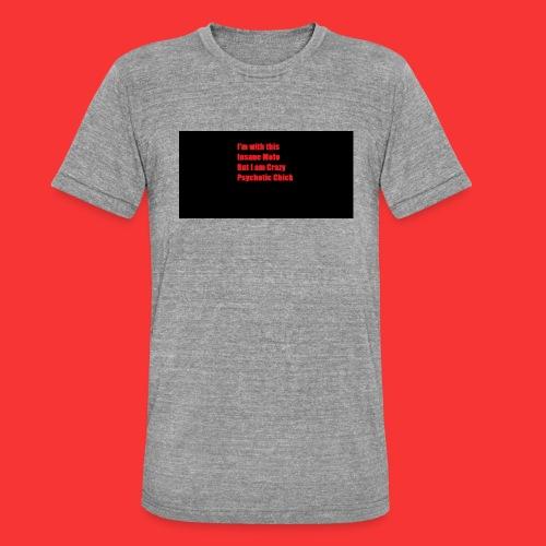Ladies - Unisex Tri-Blend T-Shirt by Bella & Canvas