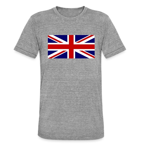 drapeau anglais - T-shirt chiné Bella + Canvas Unisexe