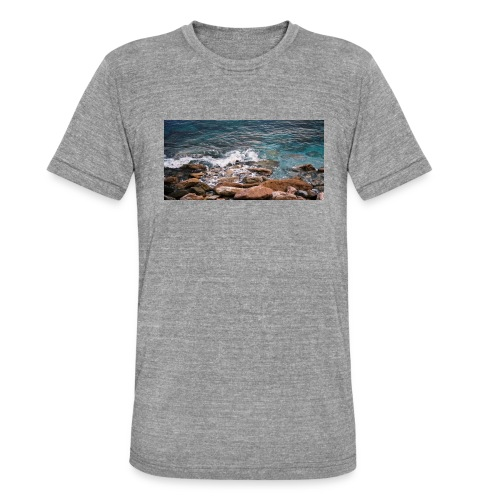 Handy Hülle Meer - Unisex Tri-Blend T-Shirt von Bella + Canvas
